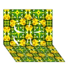 Cute Pattern Gifts Clover 3d Greeting Card (7x5)