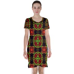 Cute Pattern Gifts Short Sleeve Nightdresses