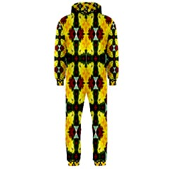 Cute Pattern Gifts Hooded Jumpsuit (Men)