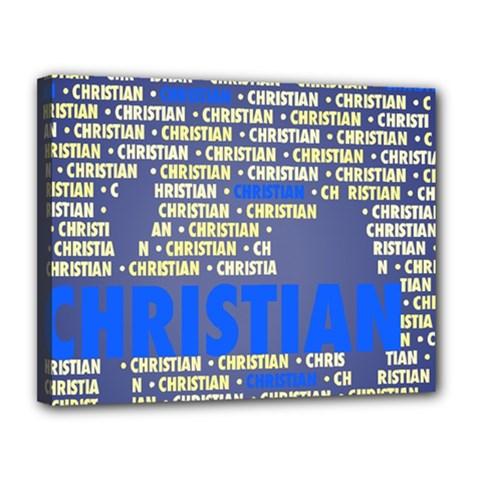 Christian Canvas 14  x 11