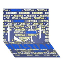 Christian I Love You 3d Greeting Card (7x5)