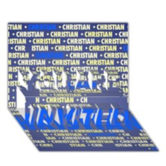 Christian YOU ARE INVITED 3D Greeting Card (7x5)