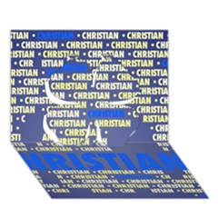 Christian Clover 3d Greeting Card (7x5)