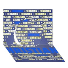 Christian Circle 3D Greeting Card (7x5)