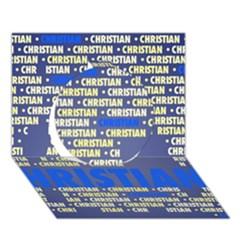 Christian Circle 3d Greeting Card (7x5)
