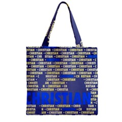 Christian Zipper Grocery Tote Bags