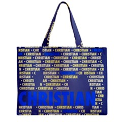 Christian Zipper Tiny Tote Bags