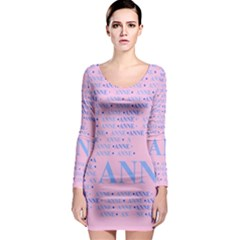 Anne Long Sleeve Bodycon Dresses