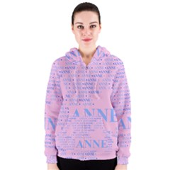 Anne Women s Zipper Hoodies