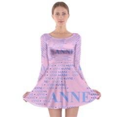 Anne Long Sleeve Skater Dress
