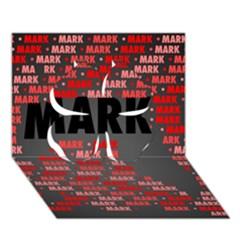 Mark Clover 3D Greeting Card (7x5)