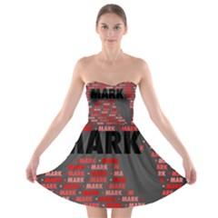 Mark Strapless Bra Top Dress
