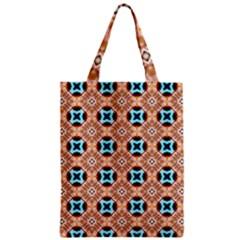 Cute Pattern Gifts Zipper Classic Tote Bags