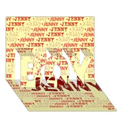 Jenny Boy 3d Greeting Card (7x5)