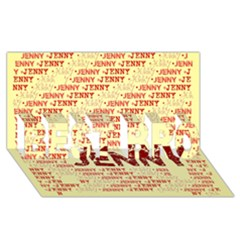Jenny BEST BRO 3D Greeting Card (8x4)