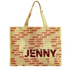 Jenny Zipper Tiny Tote Bags