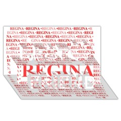 Regina Best Friends 3d Greeting Card (8x4)