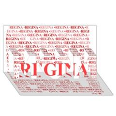 Regina Mom 3d Greeting Card (8x4)
