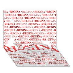 Regina LOVE Bottom 3D Greeting Card (7x5)