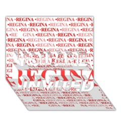 Regina You Are Invited 3d Greeting Card (7x5)