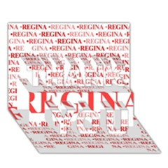 Regina Thank You 3d Greeting Card (7x5)