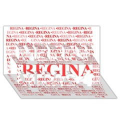Regina Merry Xmas 3D Greeting Card (8x4)