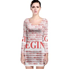 Regina Long Sleeve Bodycon Dresses
