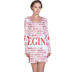 Regina Long Sleeve Nightdresses