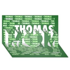 Thomas Mom 3d Greeting Card (8x4)