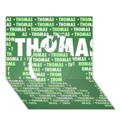 Thomas Apple 3d Greeting Card (7x5)