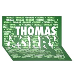 Thomas Sorry 3d Greeting Card (8x4)