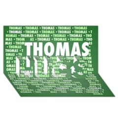 Thomas Hugs 3d Greeting Card (8x4)