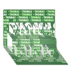 Thomas You Did It 3d Greeting Card (7x5)