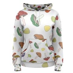 Mushrooms Pattern 02 Women s Pullover Hoodies