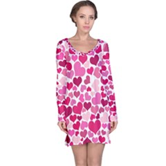 Heart 2014 0933 Long Sleeve Nightdresses