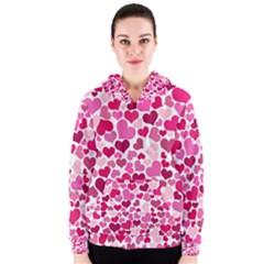 Heart 2014 0933 Women s Zipper Hoodies