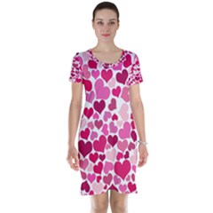 Heart 2014 0933 Short Sleeve Nightdresses