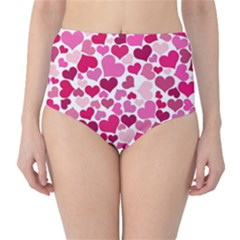 Heart 2014 0933 High-Waist Bikini Bottoms