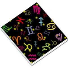 All Floating Zodiac Signs Small Memo Pads