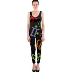 All Floating Zodiac Signs OnePiece Catsuits