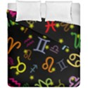 All Floating Zodiac Signs Duvet Cover (Double Size) View1