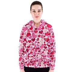 Heart 2014 0934 Women s Zipper Hoodies
