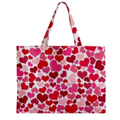 Heart 2014 0934 Zipper Tiny Tote Bags