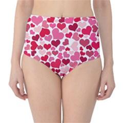 Heart 2014 0934 High-Waist Bikini Bottoms
