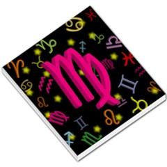 Virgo Floating Zodiac Sign Small Memo Pads