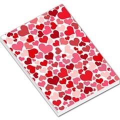 Heart 2014 0935 Large Memo Pads