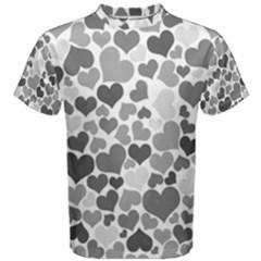 Heart 2014 0936 Men s Cotton Tees