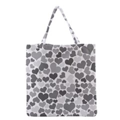 Heart 2014 0936 Grocery Tote Bags