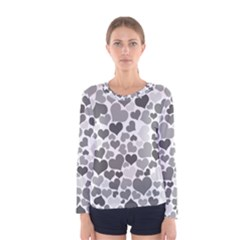 Heart 2014 0936 Women s Long Sleeve T-shirts
