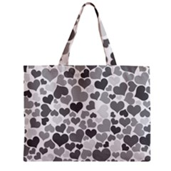 Heart 2014 0936 Zipper Tiny Tote Bags